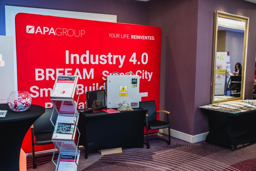 Stoisko APA Group na IV Forum Nowoczesnej Produkcji.
