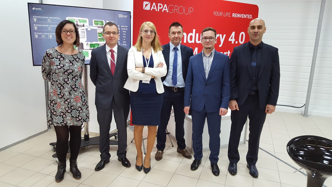 APA Team podczas II Warsaw Industry Day