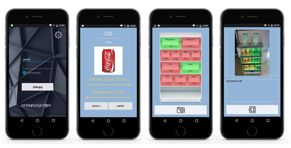 Do moderowania stanu towarowego na półce wystarczy smartfon z aplikacją APA Navigator.
