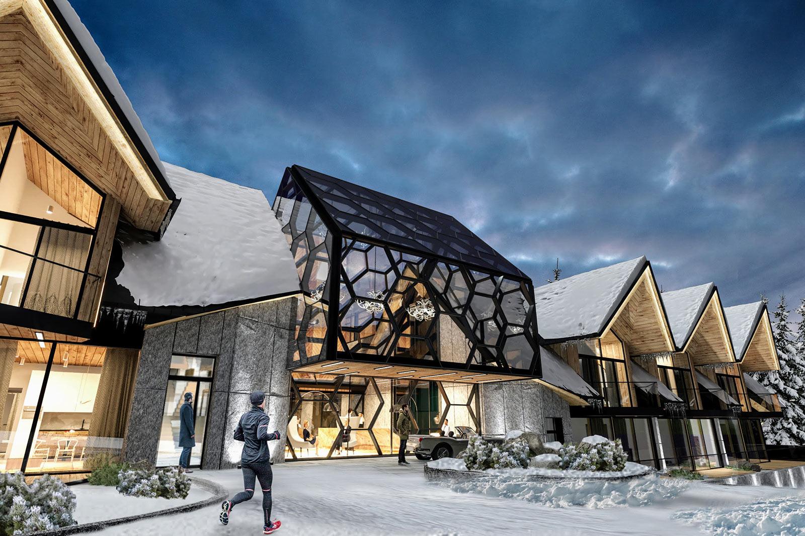 Wzgórze Marzeń Resort & SPA wZakopanem (fot.Karpiel Steindel Architektura)