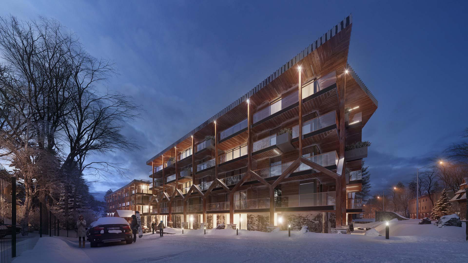 Bachleda Club Residence (fot.Karpiel Steindel Architektura)