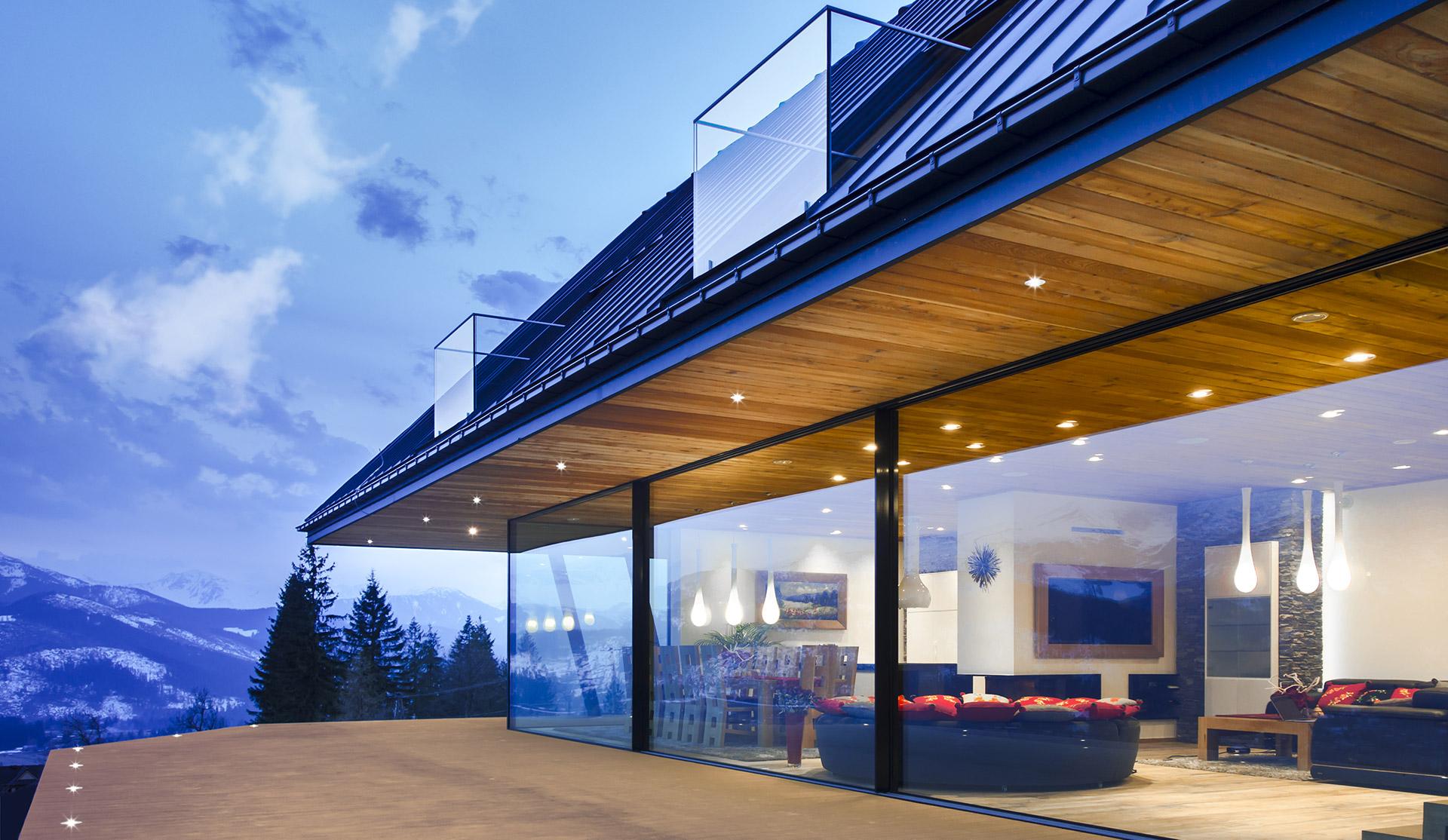 Dom wTatrach (fot.Karpiel Steindel Architektura)